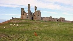 woef voor dunstanburgh castle